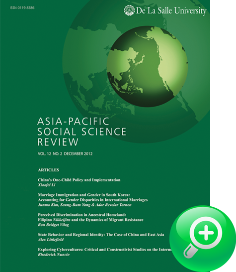 Asia Pacific Social Science Review