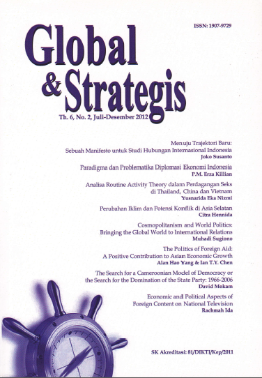 Jurnal Global dan Strategis