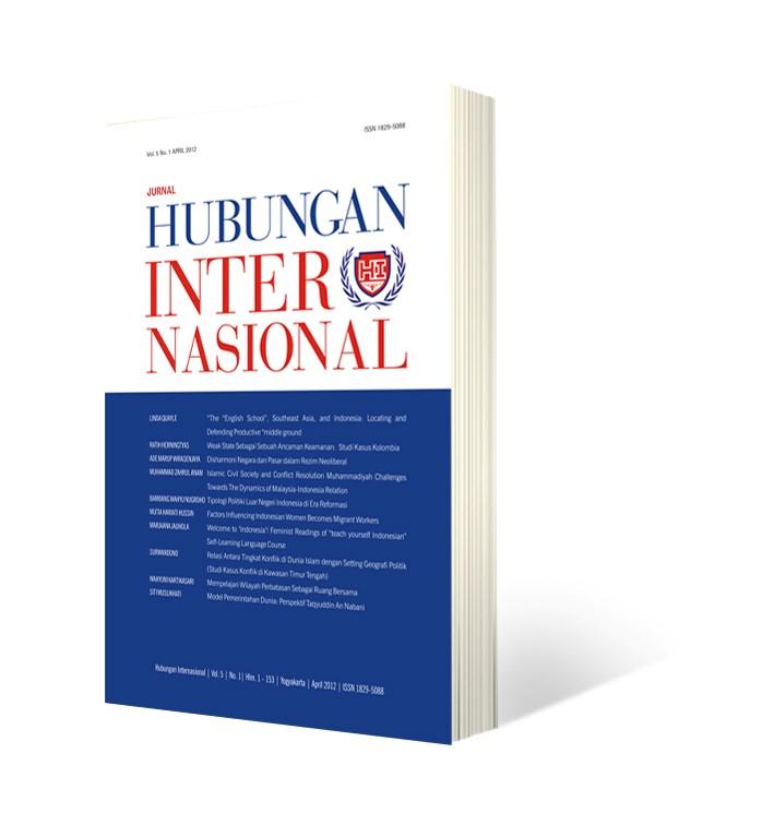 Jurnal Hubungan Internasional (JHI)